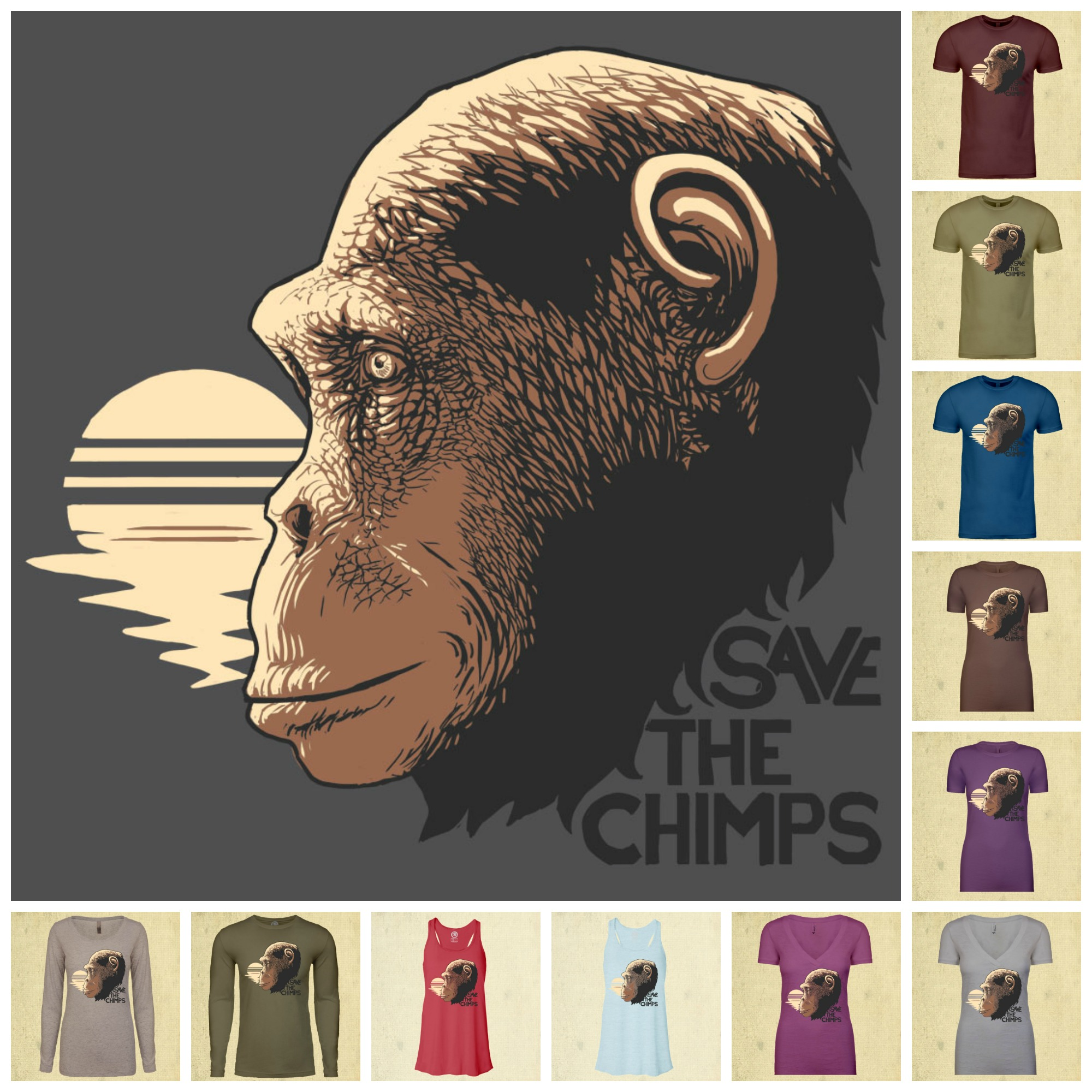 Save the Chimps Collage 3 (2)