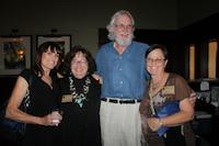 Volunteer Donna, Board Member Sarah Haney, Alan Cauldwell, & Tami Ryan 200