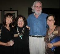 Volunteer Donna, Board Member Sarah Haney, Alan Cauldwell, & Tami Ryan